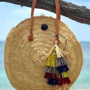 IT'S BEACH TIME ... LAJOLLA BEACH ROUND BAG